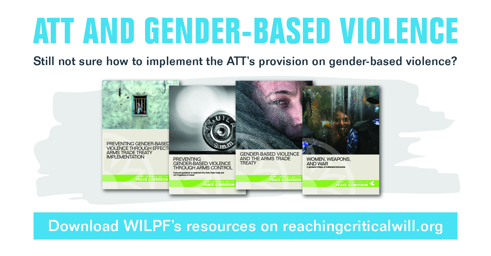 WILPF Newsletter Publications Ad