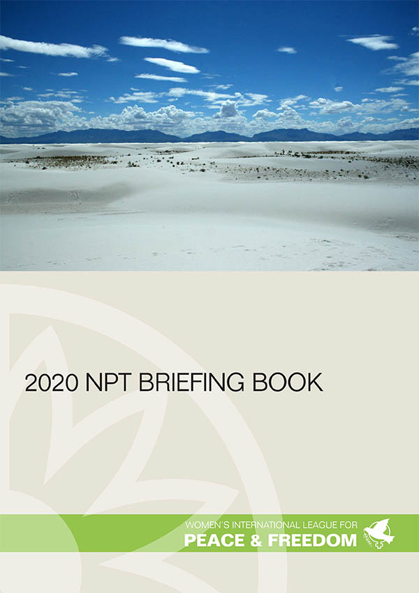 2020 NPT briefing book cover